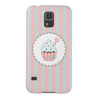 Cute Cupcake Pink & Mint Blue Design Galaxy S5 Case