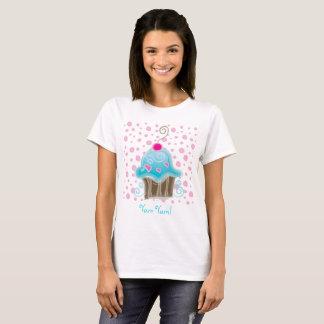Cute Cupcake Polka Dots Yum Yum T-Shirt