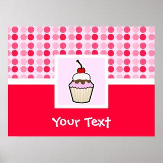 Cute Cupcake Poster
