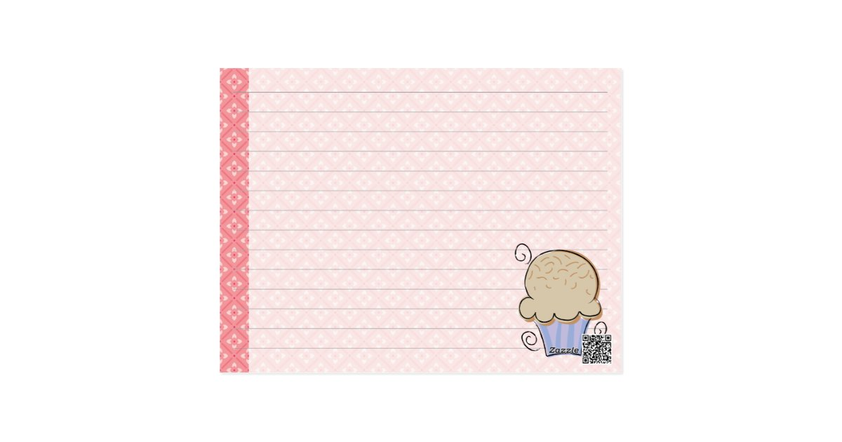 It is a graphic of Divine Cute Recipe Cards