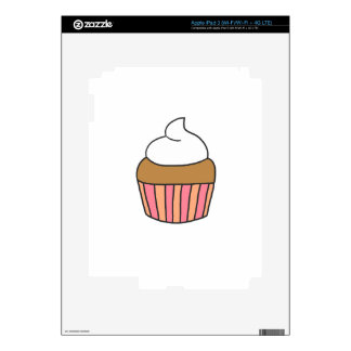 CUTE CUPCAKE SKIN FOR iPad 3