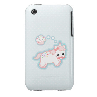 Cute Cupcake Unicorn iPhone 3 Cover