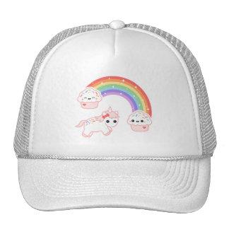 Cute Cupcake Unicorn Trucker Hat