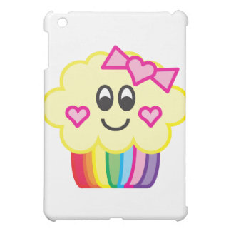 Cute Cupcake with Love Heart Bow Case For The iPad Mini