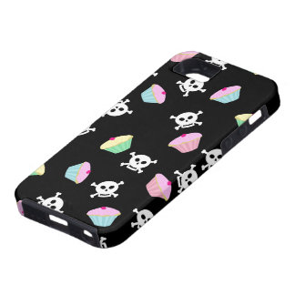 Cute Cupcakes and Skulls Emo  iPhone 5 Case