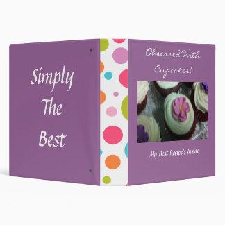 CUTE Cupcakes Binder Recipe  Book