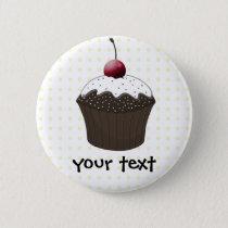 Cute Cupcakes Button