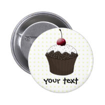 Cute Cupcakes Button