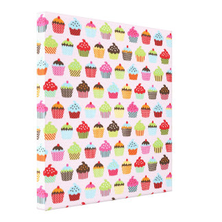 Cute Cupcakes Canvas Print