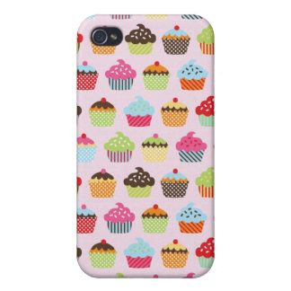 Cute Cupcakes Case For iPhone 4
