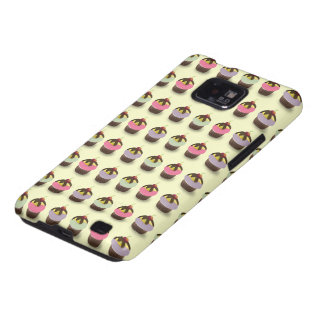 Cute Cupcakes Case-Mate Case Samsung Galaxy S Cases