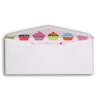 Cute Cupcakes Envelope