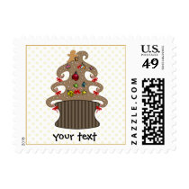 Cute Cupcakes Holiday Gifts Postage