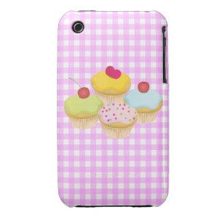 Cute Cupcakes iPhone 3 Case