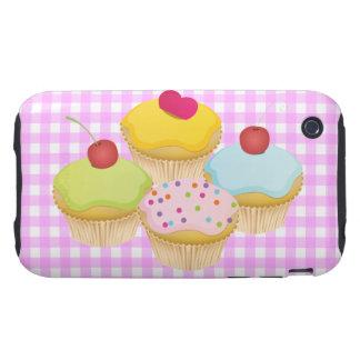 Cute Cupcakes iPhone 3 Tough Cover