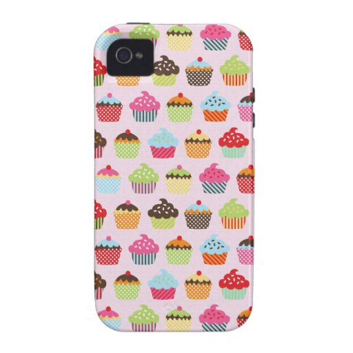 Cute Cupcakes iPhone 4 Case