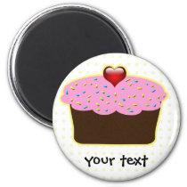 Cute Cupcakes Magnet