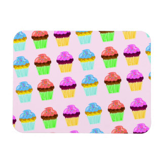 Cute cupcakes mega magnet