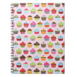 Cute Cupcakes Notebooks