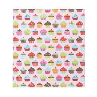 Cute Cupcakes Memo Note Pads