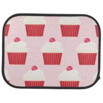 Cute Cupcakes pattern Car Floor Mat