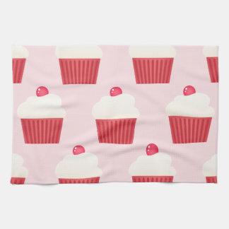 Cute Cupcakes pattern Towel