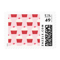 Cute Cupcakes pattern Postage