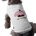 cute cupcakes pet t-shirt