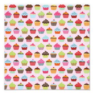 Cute Cupcakes Art Photo