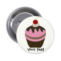 Cute Cupcakes Pinback Button