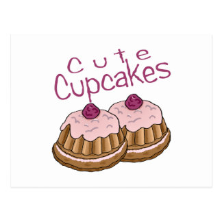 Cute Cupcakes Post Cards
