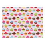 Cute Cupcakes Postcard