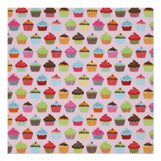 Cute Cupcakes Poster