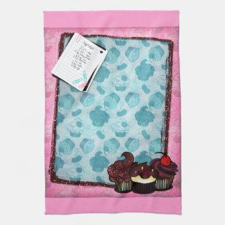 Cute Cupcakes & Recipe Kitchen Towel