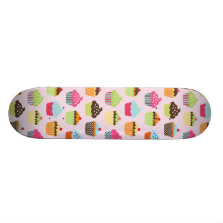 Cute Cupcakes Skateboard Deck