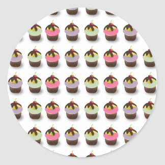 Cute cupcakes Stickers