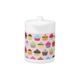 Cute Cupcakes Teapot