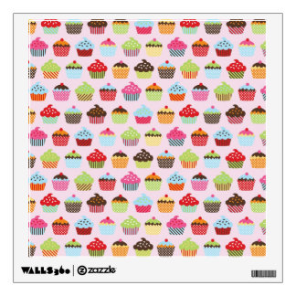 Cute Cupcakes Wall Decals