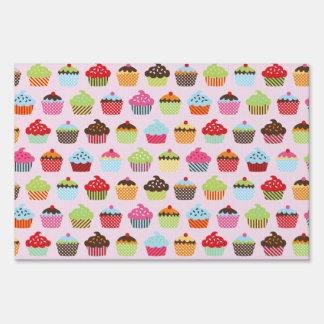 Cute Cupcakes Lawn Sign