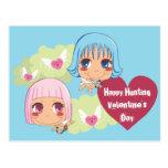 Cute Cupid Helpers Post Cards