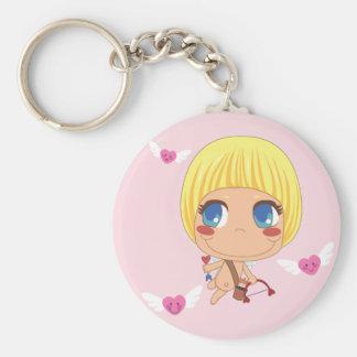 Cute Cupid Keychain