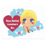 Cute Cupid Post Card