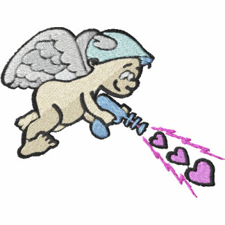 Cute Cupid With Ray Gun Pocket