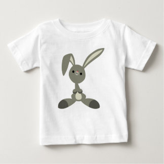 Cute Curious Cartoon Rabbit Baby T-Shirt
