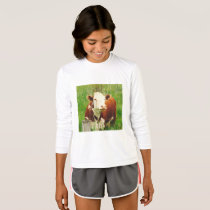 Cute Curious Cow 4Carina T-Shirt
