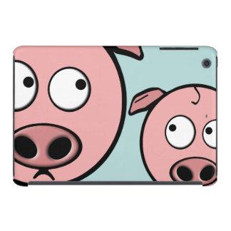 Cute Curious Pigs iPad Mini Retina Cases