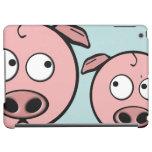Cute Curious Pigs iPad Air Cases