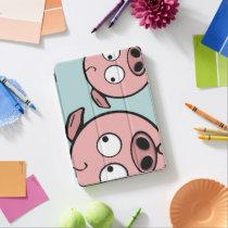 Cute Curious Pigs iPad Air Cover