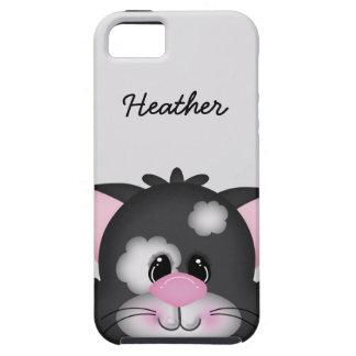 Cute Custom Cat Face iPhone 5 Vibe Case