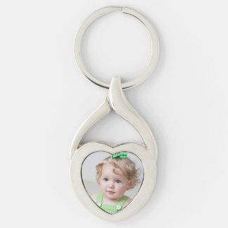 Cute Custom Photo Keychain